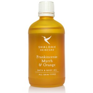 Frankincense, Myrrh & Orange Bath & Body Oil