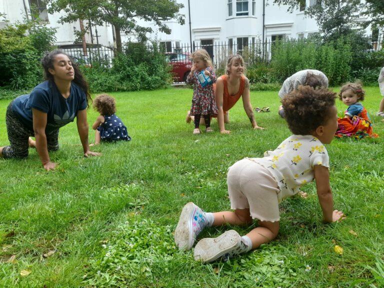 Kids & Teens Yoga in the park in Brighton